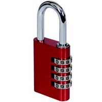 Smith & Locke Aluminium Combination Steel open shackle Padlock (W)40mm
