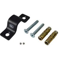 Smith & Locke 16000 Black Anchor plate (H)36mm (L)128mm