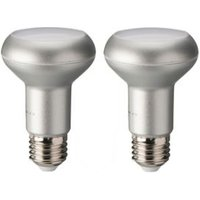 Diall E27 390lm LED R63 reflector Light bulb  Pack of 2