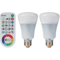 Idual E27 806lm LED Dimmable GLS Light Bulb  Pack of 2