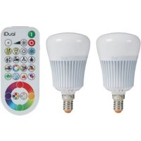 iDual E14 470lm LED Dimmable Candle Light bulb  Pack of 2