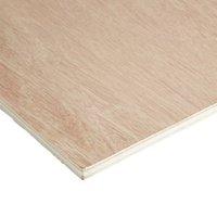 Hardwood Plywood Sheet (Th)12mm (W)610mm (L)1830mm