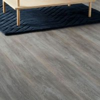 Colours Bundaberg Grey Oak effect Laminate flooring Sample