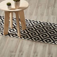 Ballapur Grey Oak effect High-density fibreboard (HDF) Laminate Laminate flooring