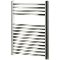 Blyss 252W Chrome Towel warmer (H)700mm (W)600mm