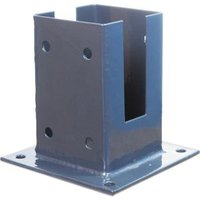 Blooma Lemhi Steel Fence support (W)150mm (D)150mm  Pack of 1