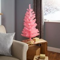 3ft Orelle Pink Classic Christmas Tree