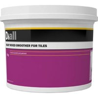 Diall Tiled surface Ready mixed Smoothover finishing plaster 5kg