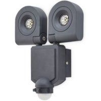 Blooma Dryden Sanded Charcoal Mains Floodlight