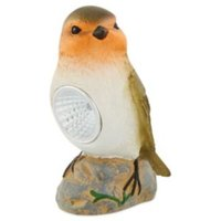 Multicolour Painted Bird Solar powered LED Outdoor lamp