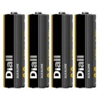 Diall Non rechargeable AA Battery Pack of 4.