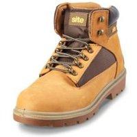 Site Quartz Honey Safety boots  Size 10