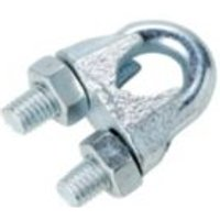 Diall Zinc plated Steel Wire rope clip