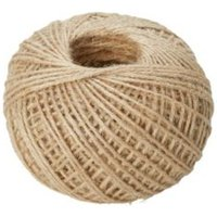 Diall Jute Jute Twisted Rope 1.2mm x 8.5M