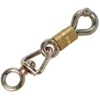 Diall Zinc plated Steel Turning switch security hook