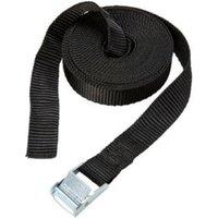 Diall Black 2.5m Cambuckle tie down