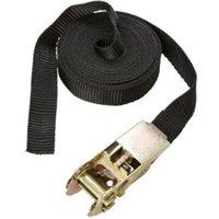 Diall Black 5m Ratchet tie down