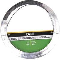 Diall Black Steel Piano wire (L)12.3m (Dia)1mm.