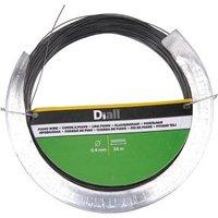 Diall Black Steel Piano wire (L)34m (Dia)0.4mm.