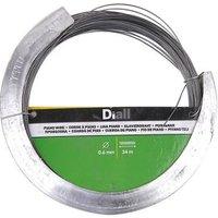 Diall Black Steel Piano wire (L)34m (Dia)0.6mm.