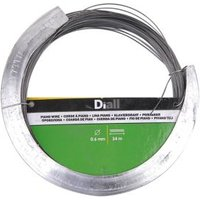 Diall Steel Piano wire 0.6mm x 34m