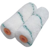 Diall Mini Microfibre Mini roller sleeve Pack of 2