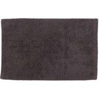 Cooke & Lewis Diani Anthracite Tufty Cotton Anti-Slip Bath Mat (L)800mm (W)500mm