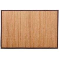 Cooke & Lewis Okaido Wood Bamboo Anti-Slip Bath Mat (L)900mm (W)600mm