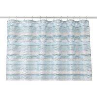 Cooke & Lewis Amaradia Multicolour Dots Shower Curtain (L)1800 mm