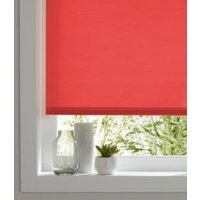 Colours Halo Corded Red Roller blind (L)180 cm (W)120 cm