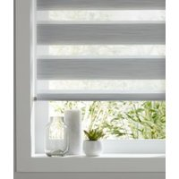 Colours Kala day & night Corded Grey Roller blind (L)240 cm (W)120 cm