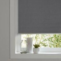 Colours Ilas Corded Grey Blackout roller blind (L)180 cm (W)60 cm