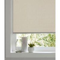Colours Ilas Corded Cream Blackout roller blind (L)180 cm (W)60 cm