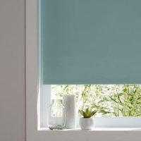 Colours Boreas Corded Green Blackout roller blind (L)180 cm (W)180 cm