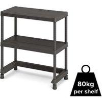 Form Links 2 shelf Polypropylene Shelving unit