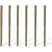 Grange Softwood Pine Post (H)2.4 M (W)70 mm  Pack of 6