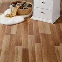 GoodHome Goldcoast Natural Oak effect Laminate flooring  2.47m² Pack