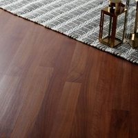GoodHome Geraldton Natural Walnut effect Laminate flooring  2.47m² Pack