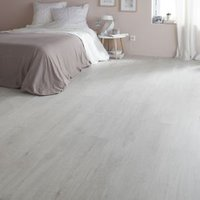 GoodHome Geelong Grey Oak effect Laminate flooring  2.47m² Pack