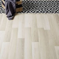GoodHome Townsville Grey Oak effect Laminate flooring  2.47m² Pack
