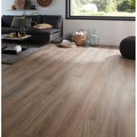 GoodHome Albury Natural Oak effect Laminate flooring  2.47m² Pack