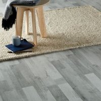 GoodHome Rockhampton Grey Oak effect Laminate flooring  2.47m² Pack