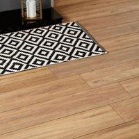 GoodHome Devonport Natural Oak effect Laminate flooring  2m² Pack