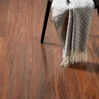 GoodHome Bannerton Mahogany effect Laminate flooring  2.06m² Pack