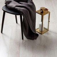 GoodHome Bannerton White Mahogany effect Laminate flooring  2.06m² Pack