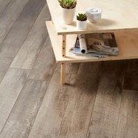 GoodHome Bannerton Dark Mahogany effect Laminate flooring  2.06m² Pack
