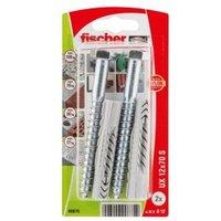 Fischer Nylon Multipurpose Plug  Pack of 2