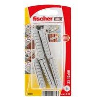 Fischer Nylon Plug (Dia)10mm (L)50mm  Pack of 5