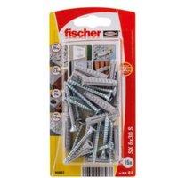 Fischer Nylon plug (Dia)6mm (L)30mm  Pack of 15