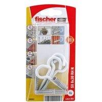 Fischer Nylon Plug (Dia)6mm (L)50mm  Pack of 4